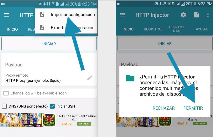 descargar servidores vodafone http injector 2019