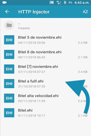 ehis servidores bitel 2019 para http injector peru