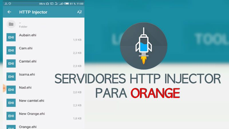 servidores orange http injector 2019 spain ilimitados