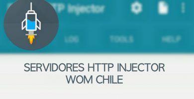 descargar servidores wom chile http injector 2019 ilimitados