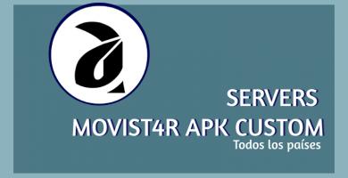 descargar servidores movistar apk custom