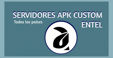 descargar servidores entel apk custom